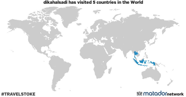 dikahalsadi's Travel Map