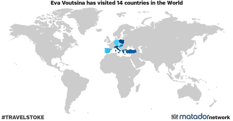 Eva Voutsina's Travel Map