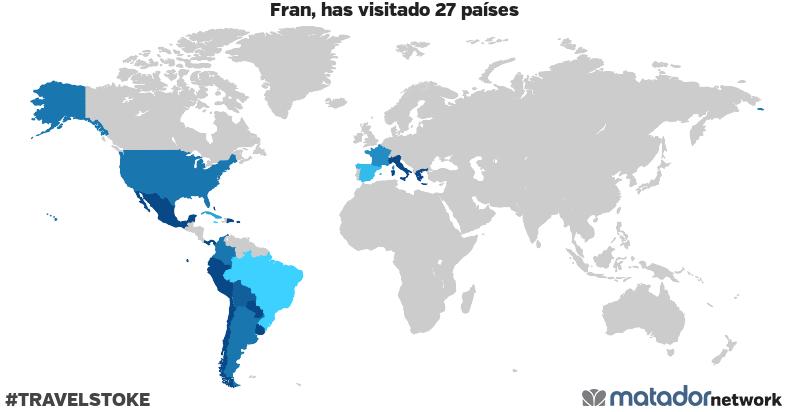 El mapamundi de Fran
