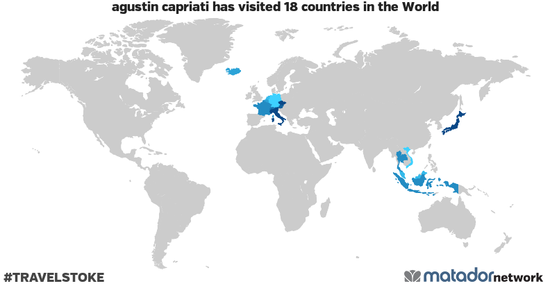 agustin capriati's Travel Map