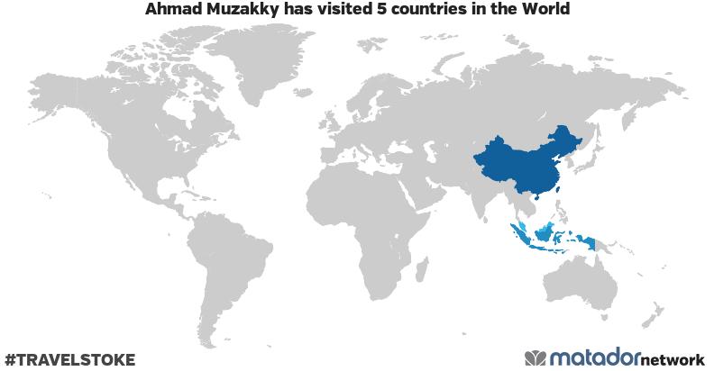 Ahmad Muzakky's Travel Map