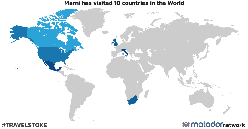 Marni's Travel Map