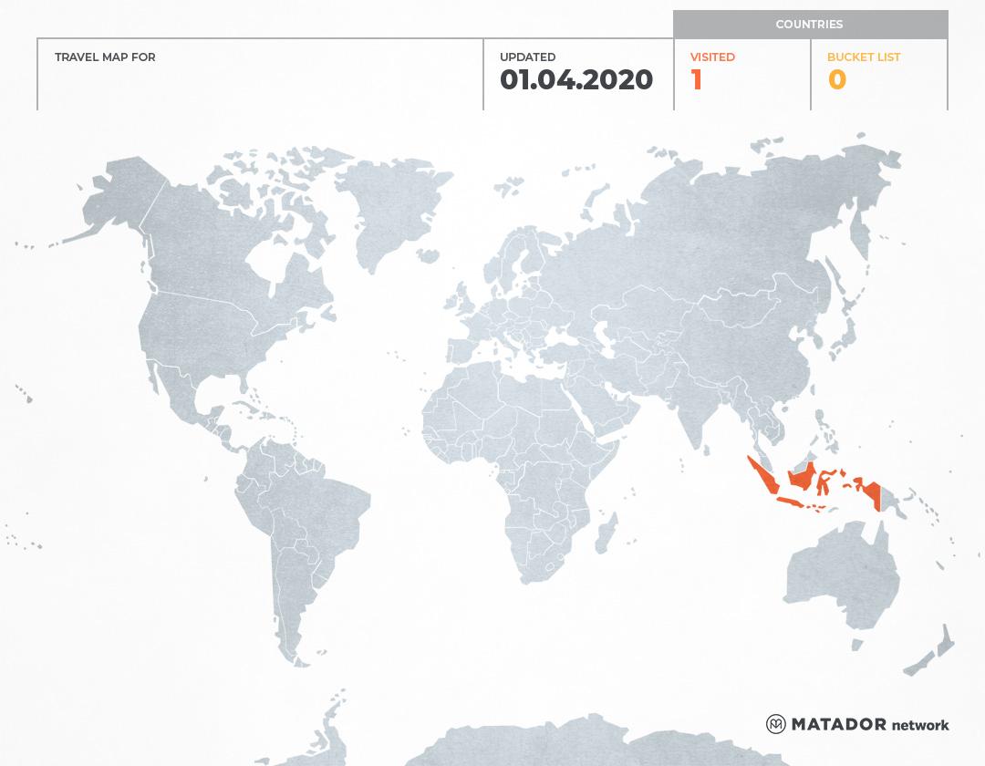 ketikanindra.com's Travel Map