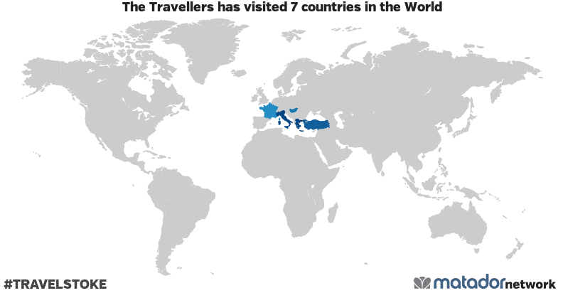 The Travellers's Travel Map