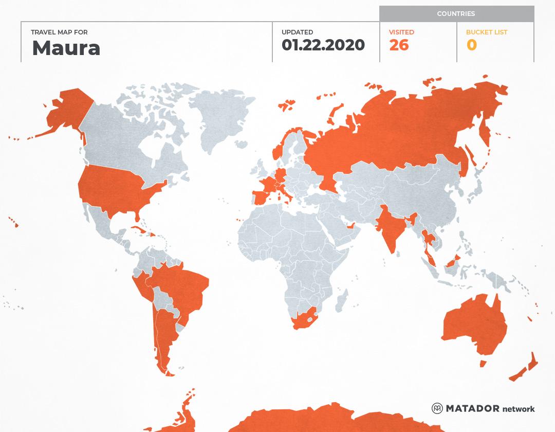 El mapamundi de Maura