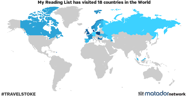 My Reading List's Travel Map