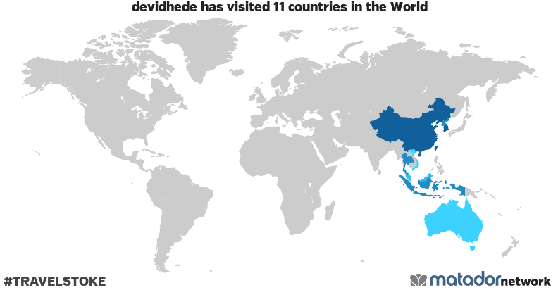 devidhede's Travel Map - Matador Network on korea and vietnam, korea and sweden, korea and asia map, korea and russia map, korea and ireland, korea and cambodia, korea and world map, korea and japan map, korea and germany, korea and malaysia map, korea and taiwan map, korea and china map, korea and united states map,
