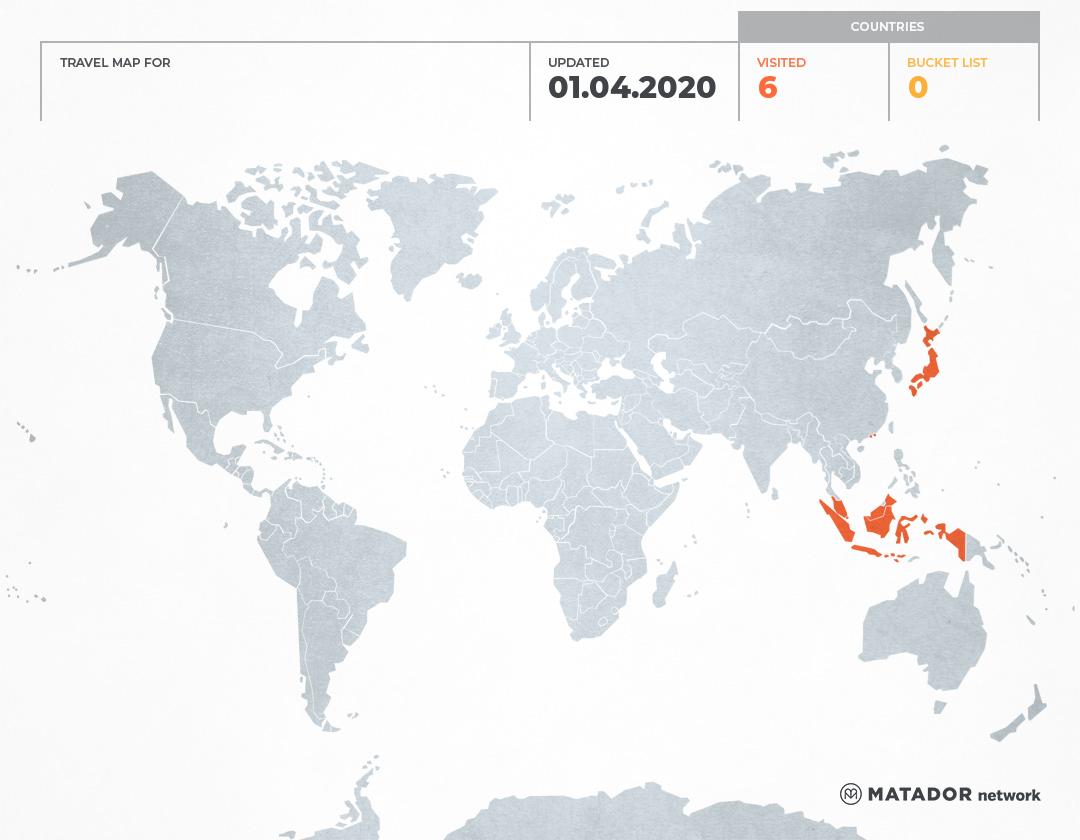 Iki's Travel Map