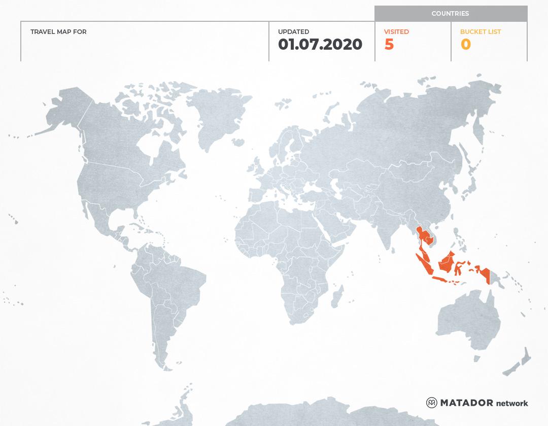 Endah Kurnia Wirawati's Travel Map